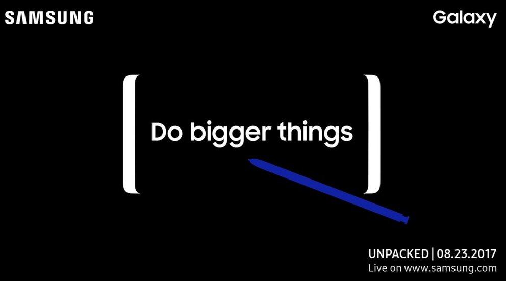 """""""Ultimatives Multitasking-Gerät"""": Galaxy Note 8 wird am 23. August vorgestellt"""