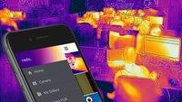 Heiße Bilder: Das Smartphone als Wärmebildkamera