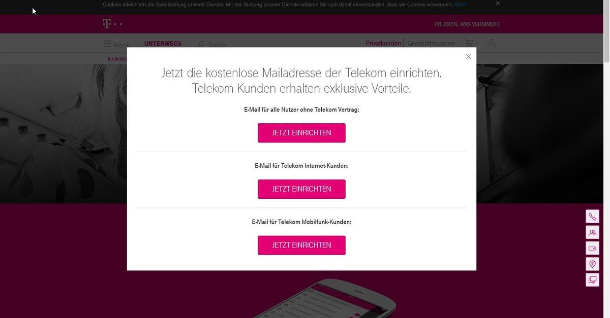 T-Online Registrieren