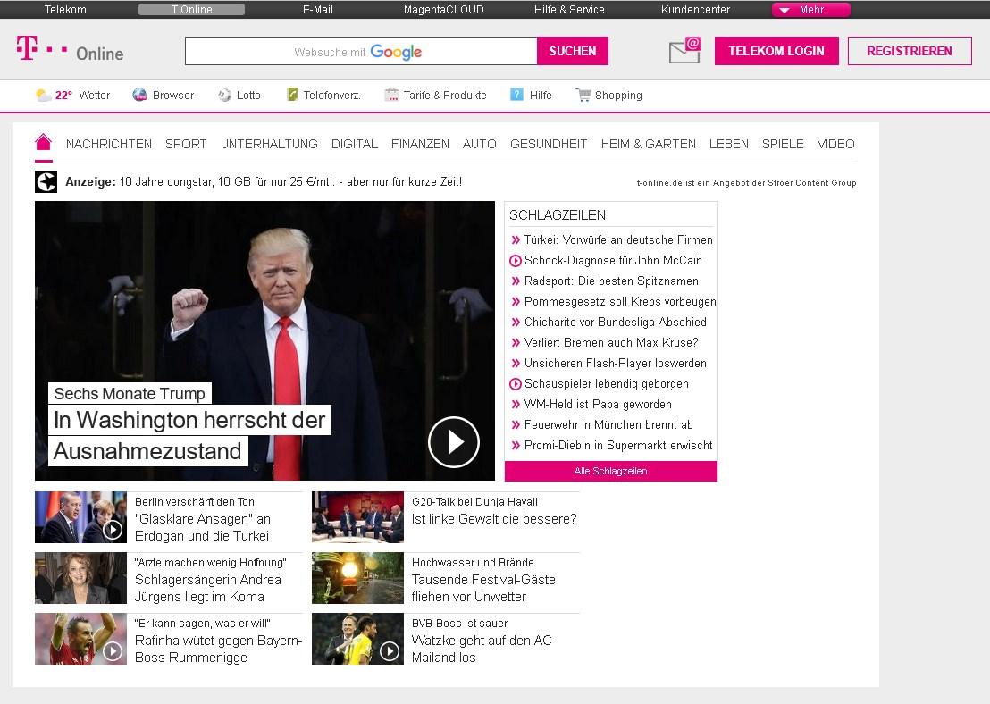 T Onlein : t online als startseite in jedem browser giga ~ Orissabook.com Haus und Dekorationen