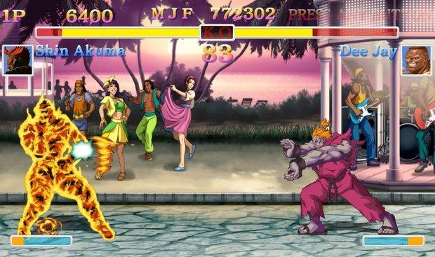 Ultra Street Fighter 2: Shin Akuma spielen und freischalten