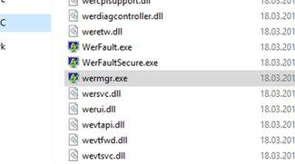 wermgr.exe – Was ist der Windows-Prozess? Deaktivieren?