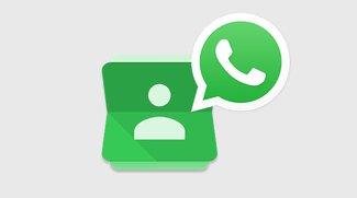 WhatsApp: Kontakte wiederherstellen – so geht's