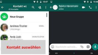 WhatsApp: Nachricht schreiben – so geht's