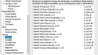 Mit Winamp-Plugins den Player erweitern