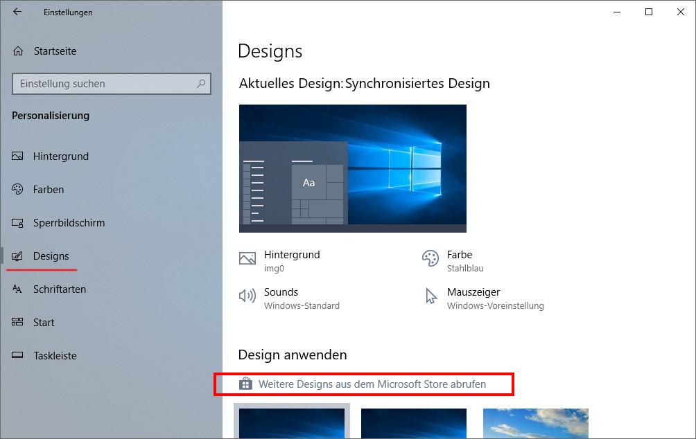 Windows 10 Die Besten Themes Kostenlos Downloaden Und Installieren So Geht S