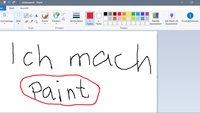 Windows 10: Paint öffnen – so geht's