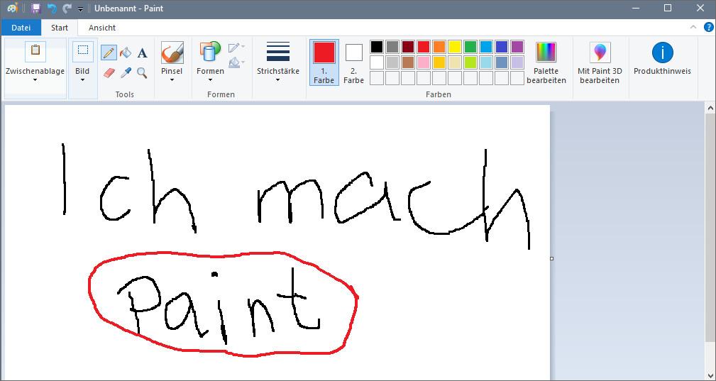 Windows 10 Paint öffnen So Gehts Giga