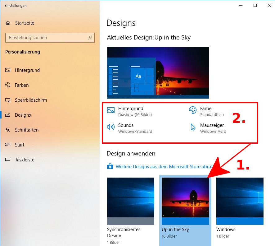 Windows 10: Die besten Themes kostenlos downloaden und