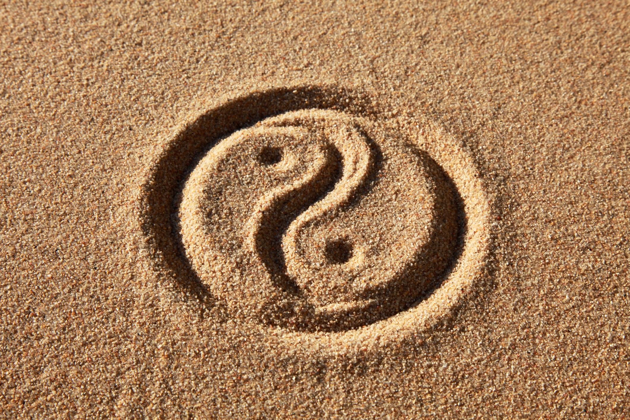 Yin yang zeichen emoji