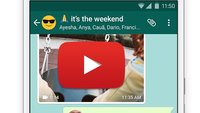 YouTube-Video per WhatsApp versenden – so geht's