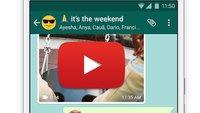 YouTube-Video per WhatsApp versenden – so geht's