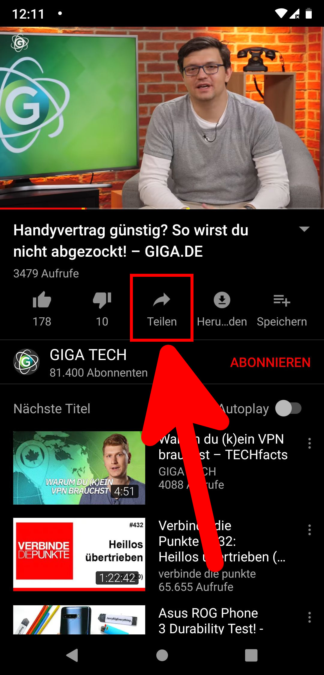 Youtube Video Per Whatsapp
