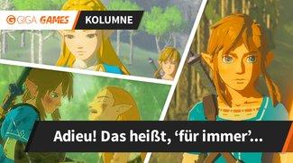 Warum ich nie wieder ein neues Zelda spielen möchte [Kolumne]