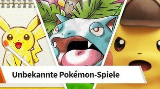 10 Pokemon-Spiele, die du noch nicht kanntest
