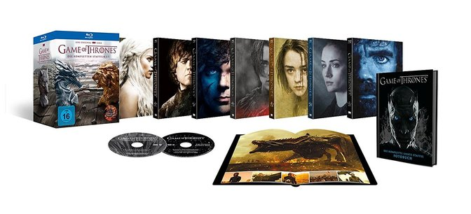 Game of Thrones Staffel 1-7 Box Blu-Ray 71gEp-oSTiL._SL1500_