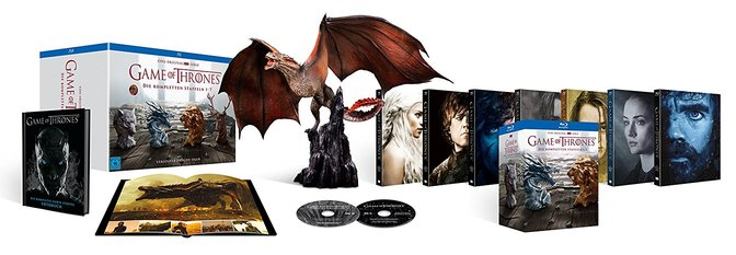 Game of Thrones Staffel 1-7 Blu-Ray Box mit Drachenstatue 81G86RdiUCL._SL1500_