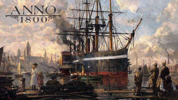 Anno 1800: Ubisoft kündet neuen Teil der Aufbau-Simulation an