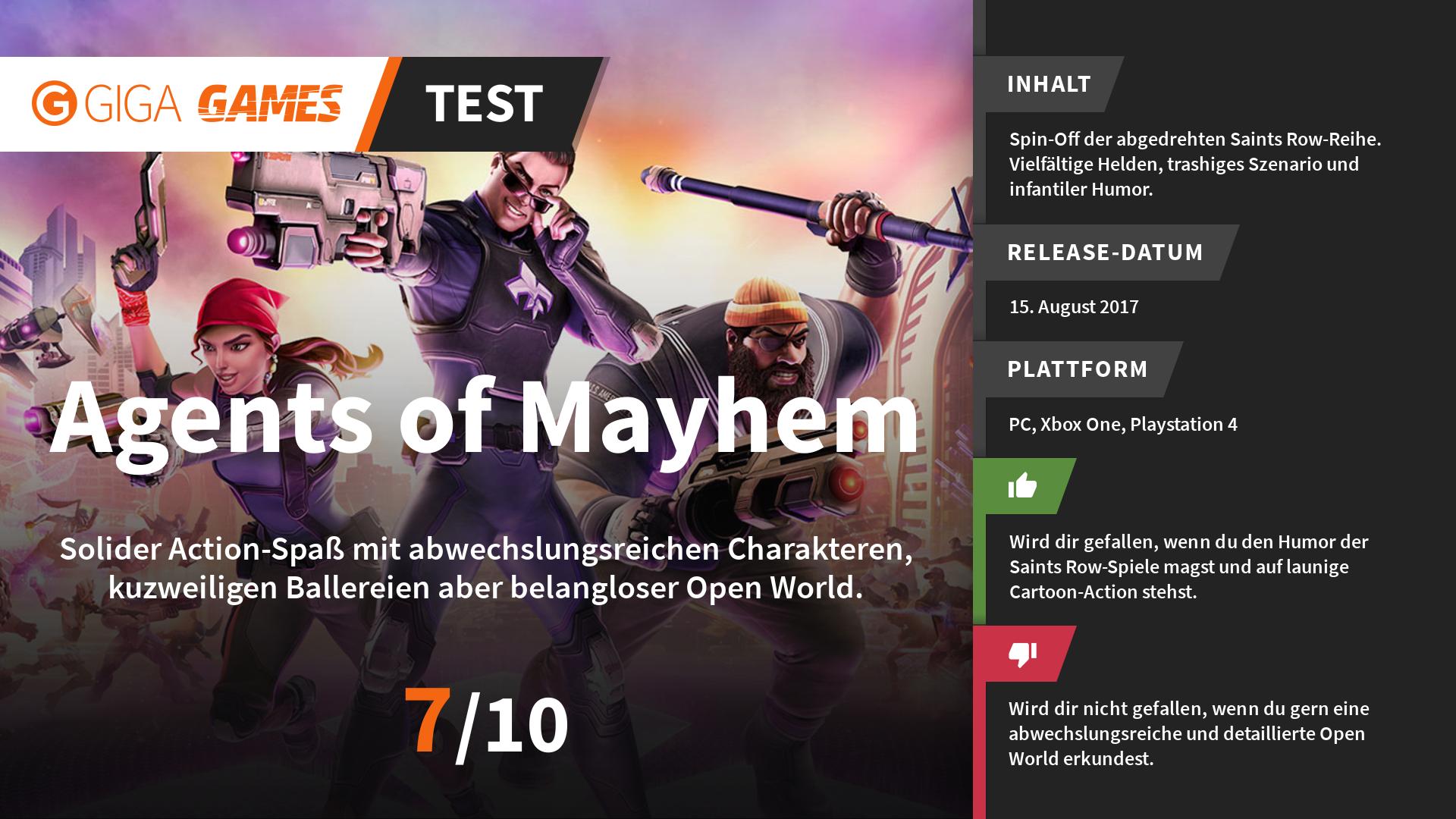 Agents of Mayhem - Neuer Trailer