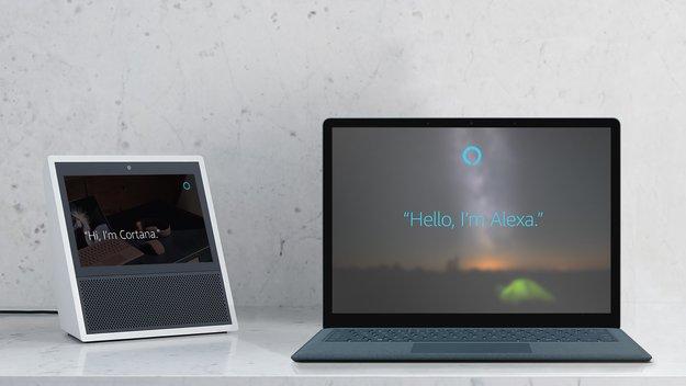 Beziehung zwischen Sprachassistenten: Alexa und Cortana sind ein Paar