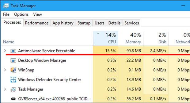 Was Ist Antimalware Service Executable Wie Deaktivieren