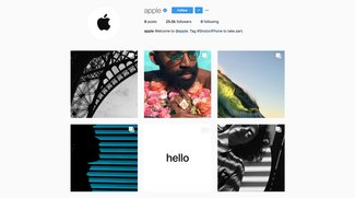 Shot on iPhone: Apple startet offiziellen Instagram-Account