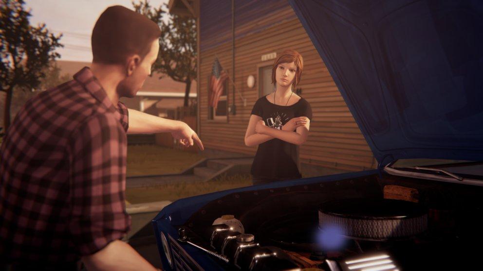 Mit David versteht sich Chloe schon in Before the Storm kein bisschen.