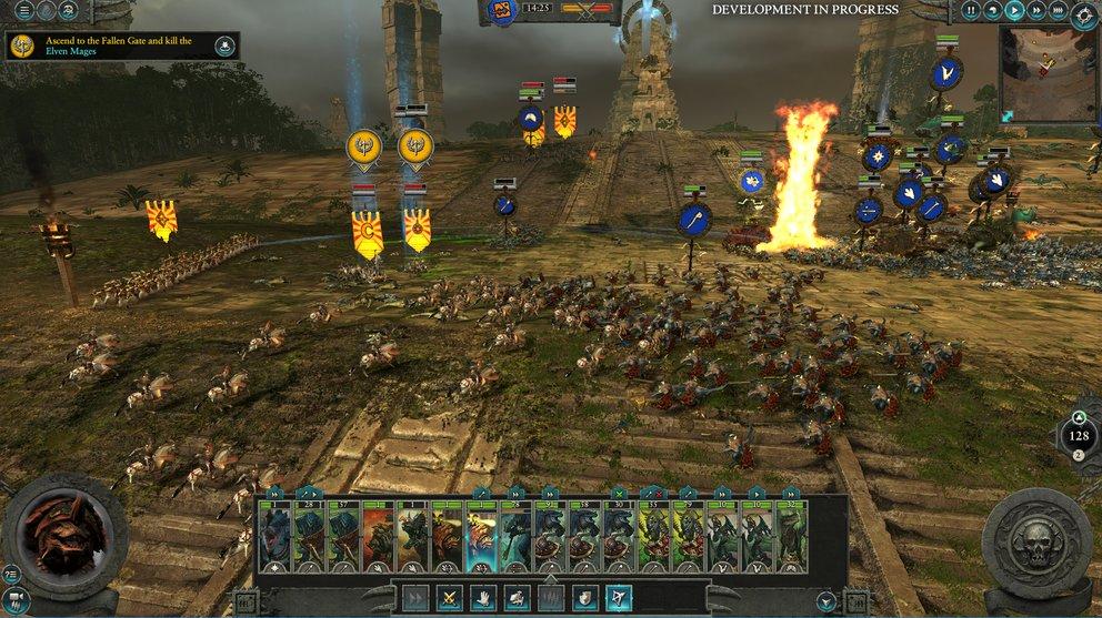 In den Echtzeitkämpfen ist Total War: Warhammer 2 noch immer ein reinrassiger Brocken für Hardcore-Strategen.