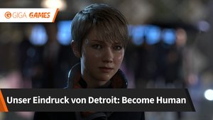Detroit - Become Human: Wir haben das Science Fiction-Adventure angespielt