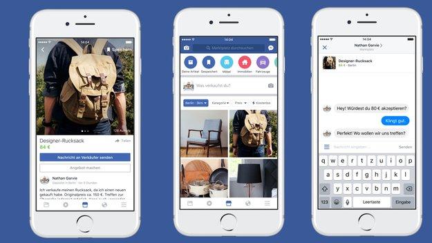 Facebook Marketplace: Flohmarkt-Dienst startet in Deutschland
