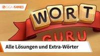 Wort Guru: Lösungen und Extra-Wörter für alle 3052 Level