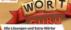 Wort Guru: Lösungen und Extra-Wörter für alle 2548 Level