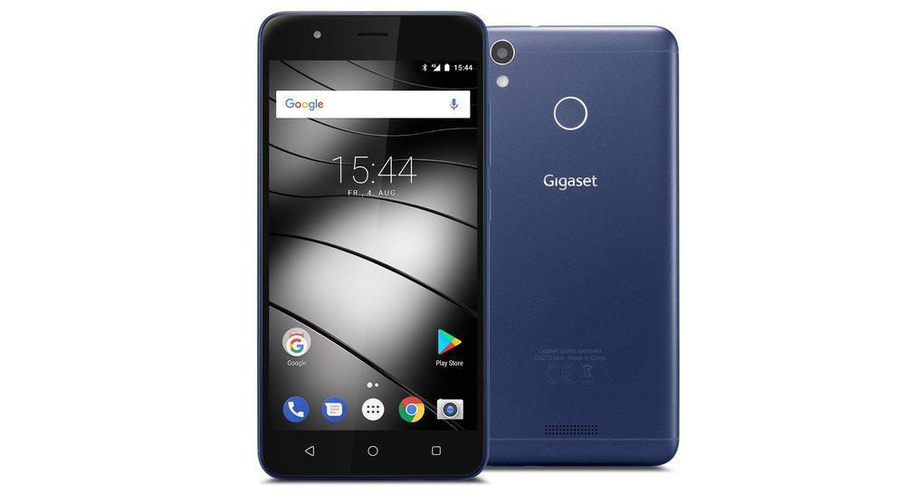 Gigaset-GS270-Blau-Front