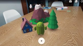 ARCore vorgestellt: So erweitert Google die Realität deines Smartphones