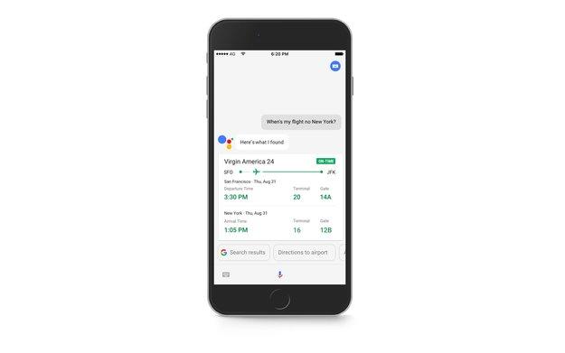 Google Assistant für iOS ab sofort in Deutschland verfügbar