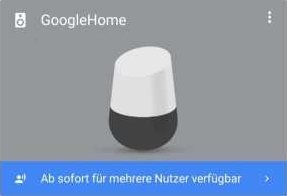 Google Home Multi User einrichten