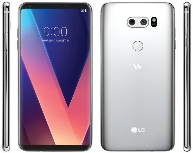 So schick wird das LG V30: Erstes Pressebild macht Lust auf mehr
