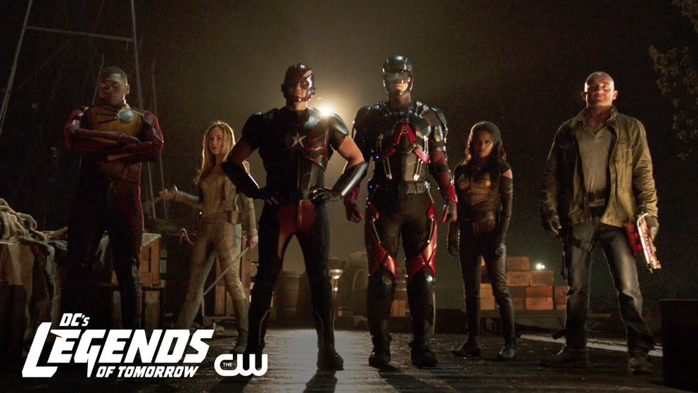 Legends of Tomorrow Staffel 3 Titelbild