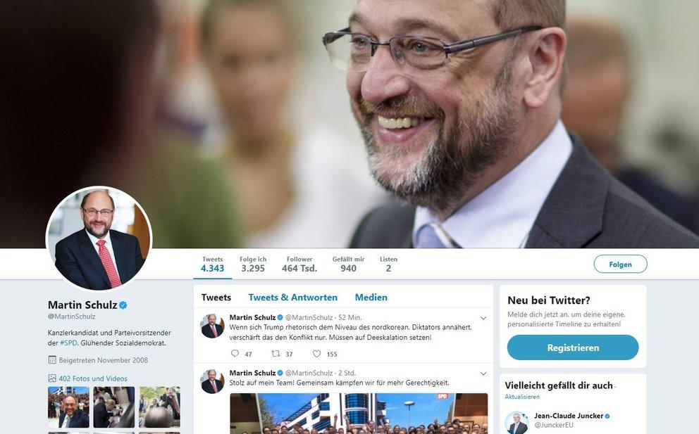 Martin Schulz Twitter