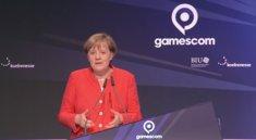 gamescom 2017: Angela Merkel hält Eröffnungsrede