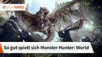 Monster Hunter - World: Unser Eindruck von der gamescom 2017