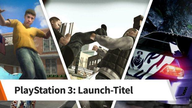 Das waren die Launch-Titel der PlayStation 3