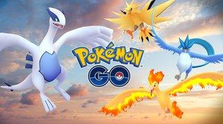 Pokémon GO: Zapdos-Raid zu dritt gemeistert