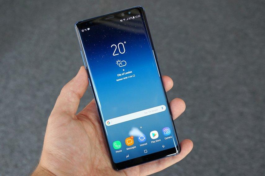 Das Galaxy Note 8 lässt sich per Tastenkombination zurücksetzen