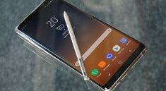 Galaxy Note 9: Neue Position für den Fingerabdrucksensor gefunden