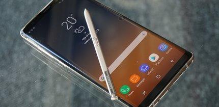Samsung Galaxy Note 8 in Bildern: So sieht der gläserne Kraftprotz aus der Nähe aus