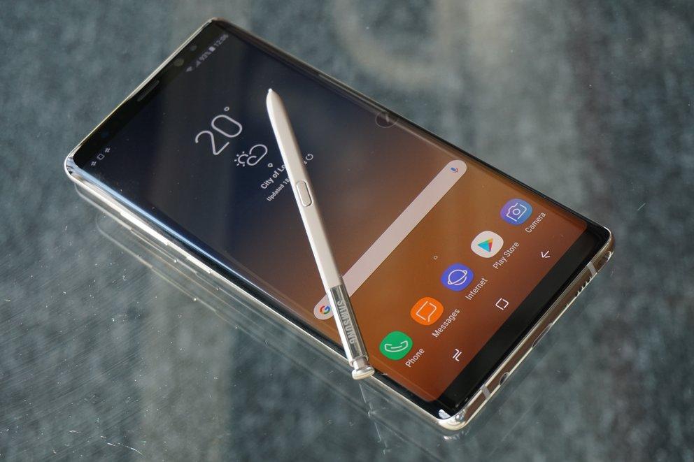 Samsung Galaxy Note 8: Preisverfall im Vergleich