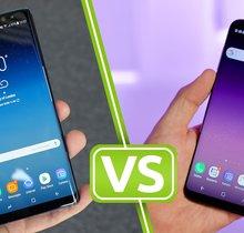 Samsung Galaxy Note 8 und Galaxy S8 Plus im Vergleich: Finde den Unterschied
