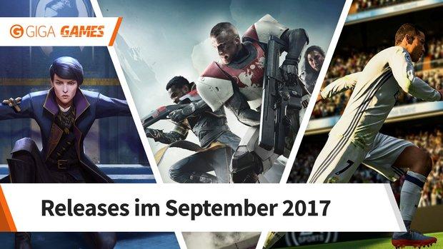 Release-Liste für September 2017: Diese Spiele erwarten dich