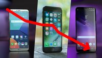 Preisverfall von Smartphones: Diese Dinge solltest du wissen